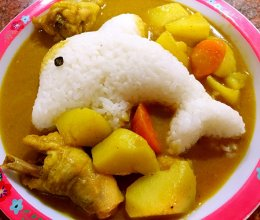 咖喱土豆炖鸡的做法