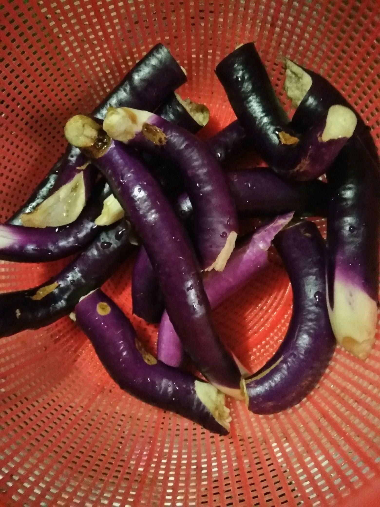 土蒸茄子#我给老爸做道菜#的做法步骤