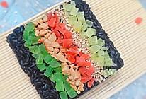 高颜值乌米饭的做法
