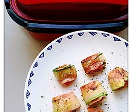 #麦子厨房#美食锅之黄瓜培根卷的做法