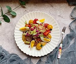 #精品菜谱挑战赛#蔬菜沙拉的做法