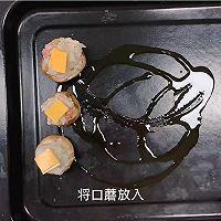 芝士培根芋泥烤口蘑—快手小食系列的做法图解16