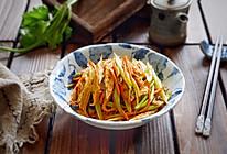 风味腐竹烩芹菜的做法