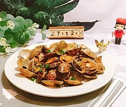 超级下饭的蚝油炒花甲的做法