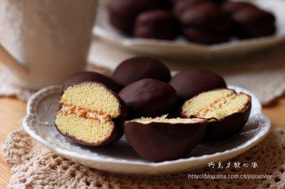 ~巧克力软心派~一口一个的小甜点