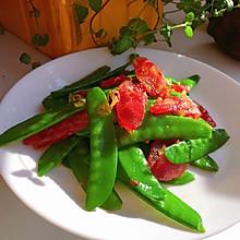 #餐桌上的春日限定#腊肠荷兰豆