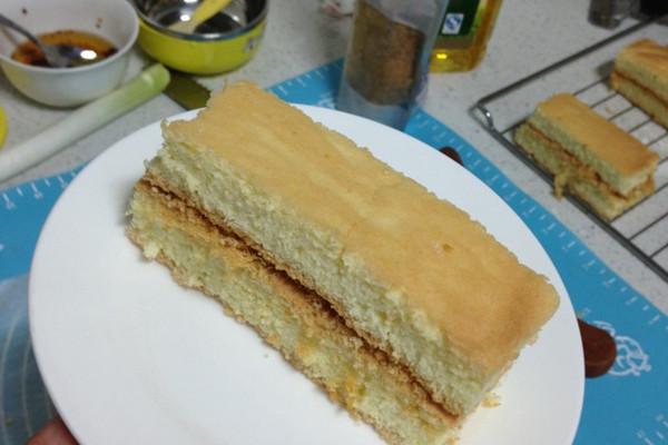 木糖醇戚风蛋糕的做法
