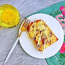 #花10分钟,做一道菜!#洋葱酥吐司披萨