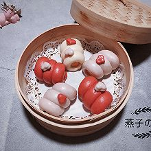 #馅儿料美食,哪种最好吃#爱心芝士鳕鱼肠卷
