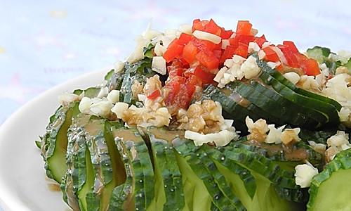 酱香蓑衣黄瓜的做法