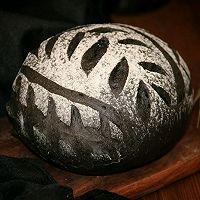 墨鱼软欧面包(四种整形手法):的做法图解3
