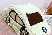 汽车生日蛋糕(8寸)的做法