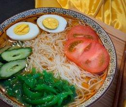 #夏日开胃餐#冰冰凉凉韩式大冷面的做法