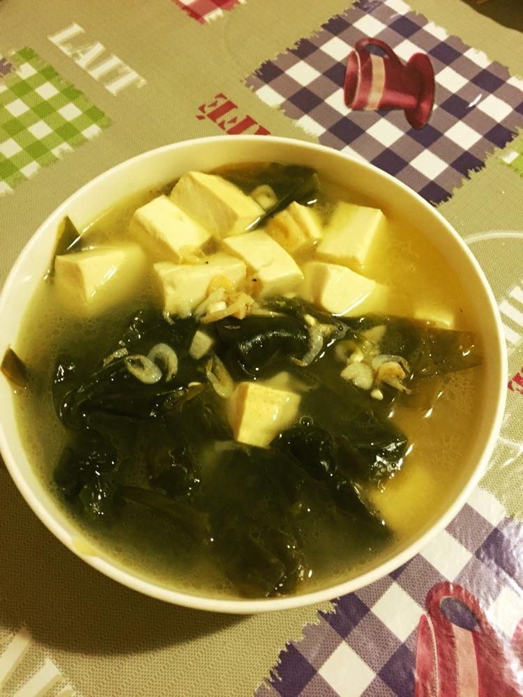 海带豆腐汤的做法_【图解】海带豆腐汤怎么做如何做
