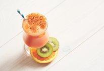 鲜橙胡萝卜思木西的做法