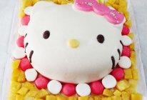 Kitty双层酸奶冻芝士蛋糕#长帝烘焙节#的做法