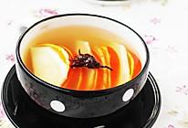 玉兰花果茶的做法