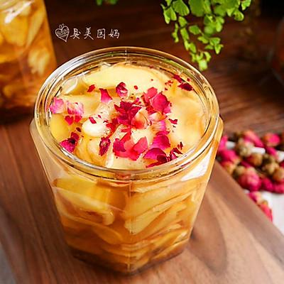 养颜活血的玫瑰蜜醋姜
