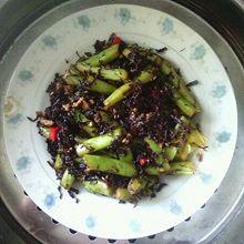 梅干菜炒四季豆