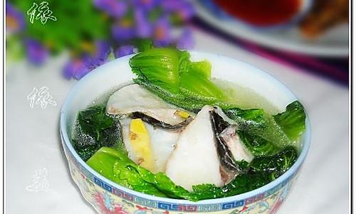水东芥菜浸鱼片的做法