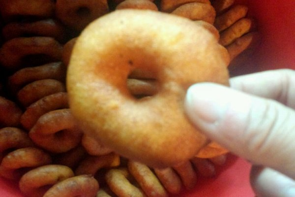 陕北油圈圈[中式甜甜圈]的做法