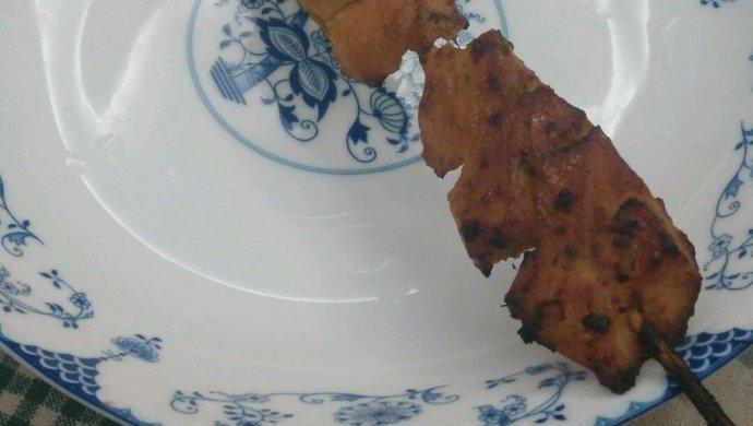 橄露Gallo经典特级初榨橄榄油试用之烤鸡肉串