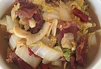 白菜炖牛肉的做法