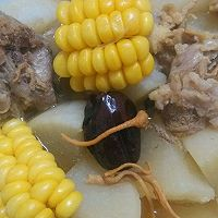 排骨玉米汤的做法图解1