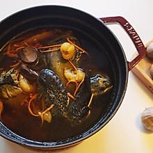 香浓美味又简单——虫草花淮山黑蒜乌鸡汤
