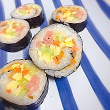 卷一卷切一切的简单寿司,紫菜包饭