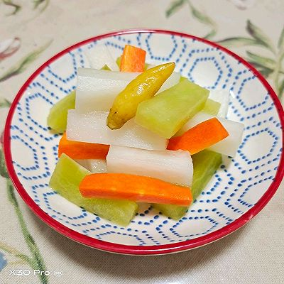 泡菜白萝卜