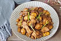 板栗烧鸡#肉食者联盟#的做法