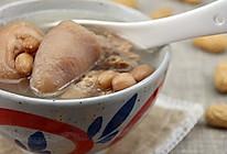 猪尾骨花生汤的做法