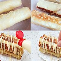 #丘比三明治#满足味蕾的薯香芝士三明治卷的做法图解3