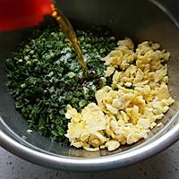韭菜鸡蛋素馅饼的做法图解7