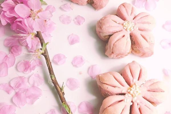 三生三世十里桃花酥 浪漫高颜值 中秋节月饼中式糕点的做法