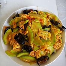 家常菜——西葫芦番茄炒蛋