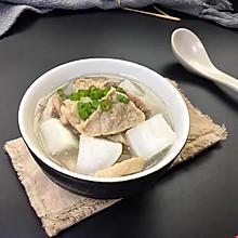 白萝卜猪肺汤#柏翠辅食节-健康食疗#