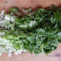 小白菜熬土豆的做法图解3