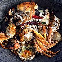 【香辣螃蟹】~鲜香辣的做法图解9