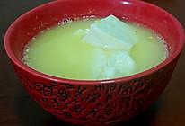 秋季消脂玉米嫩豆腐素汤的做法