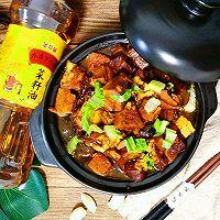 五花肉炖豆腐#金龙鱼外婆乡小榨菜籽油  我要上春碗#