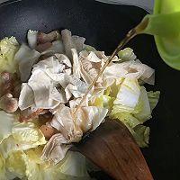 #肉食者联盟#白菜腐皮炖五花肉的做法图解19