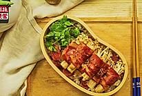 独家 | 金针菇培根卷×香肠香菇焖饭便当!的做法