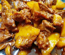 黄焖牛肉的做法