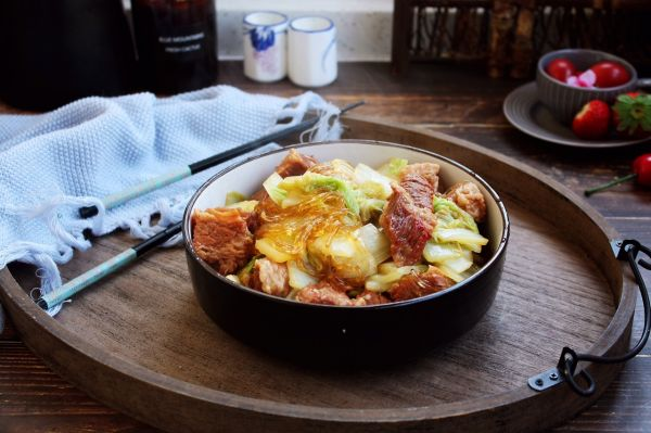 大白菜炖牛肉(附炖牛肉方法)的做法
