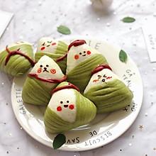 粽子寶寶(卡通饅頭)#甜粽VS咸粽,你是哪一黨?#