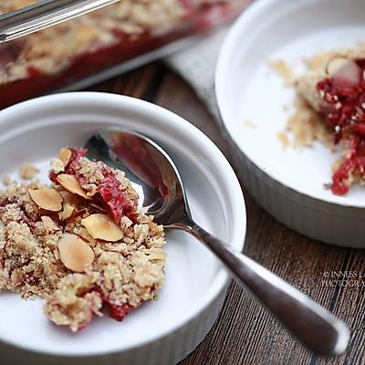 【草莓全麦金宝】 减肥专家也同意你吃的低热甜品