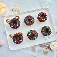 甜美可爱的圣诞甜甜圈#安佳烘焙学院#的做法图解14