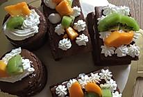巧克力小蛋糕的做法